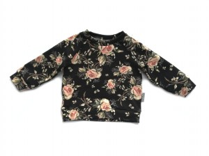Bluza black rose